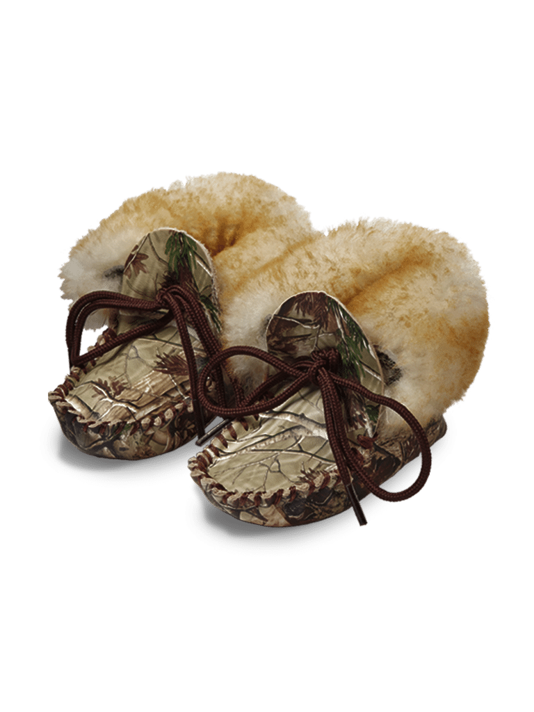 Baby Mocs With Wool