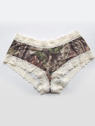 Lace-Trimmed Boy Short Pantie