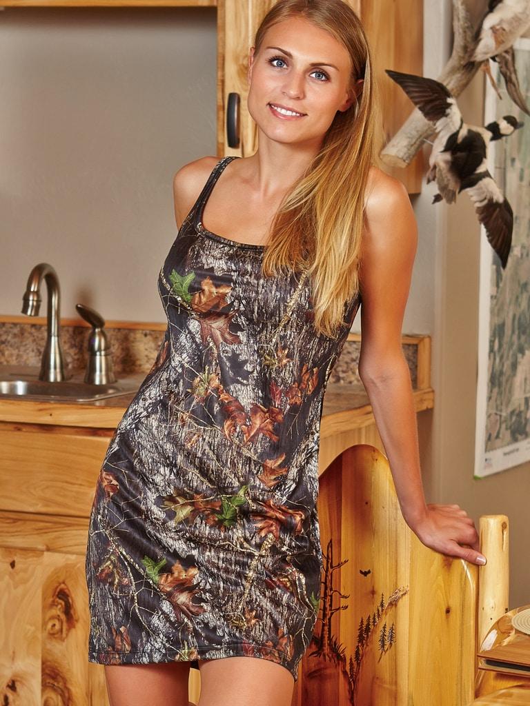 Camo Tank Nightgown