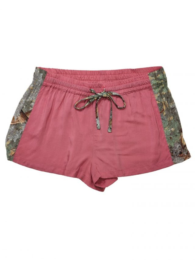 King's Camo-Trimmed Sleep Shorts