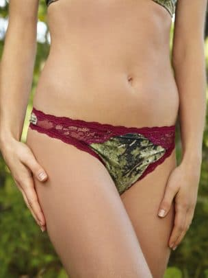 Camo Thong - 2 pack