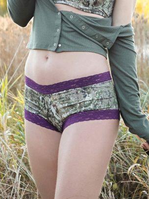 Lace-Trimmed Boy Short Pantie
