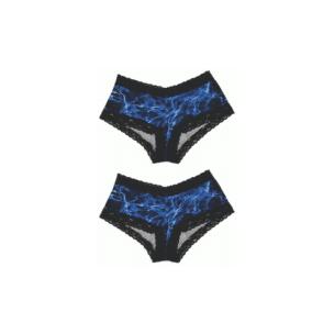 Lace-Trimmed Boy Short - 2 Pack
