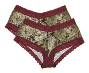 Lace-Trimmed Boy Short -2 Pack